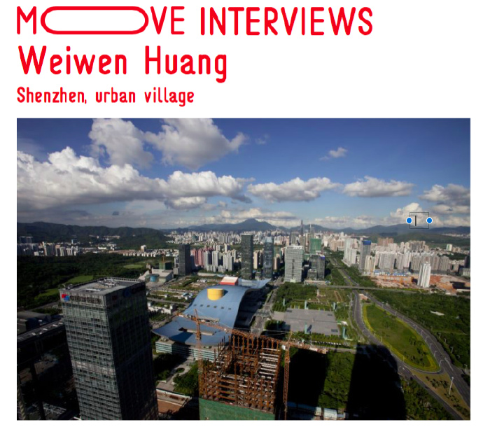 MOVE INTERVIEWS:  Shenzhen, urban village